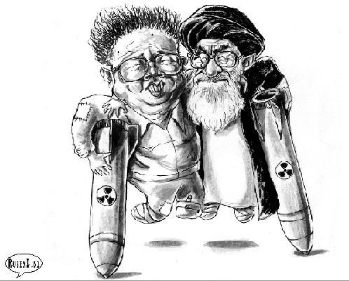 خامنه ای ، کیم جون ایل ، بمب اتم ، کوتوله سیاسی