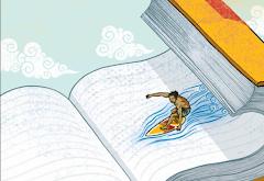 Surfear sobre letras, navegar entre palabras....
