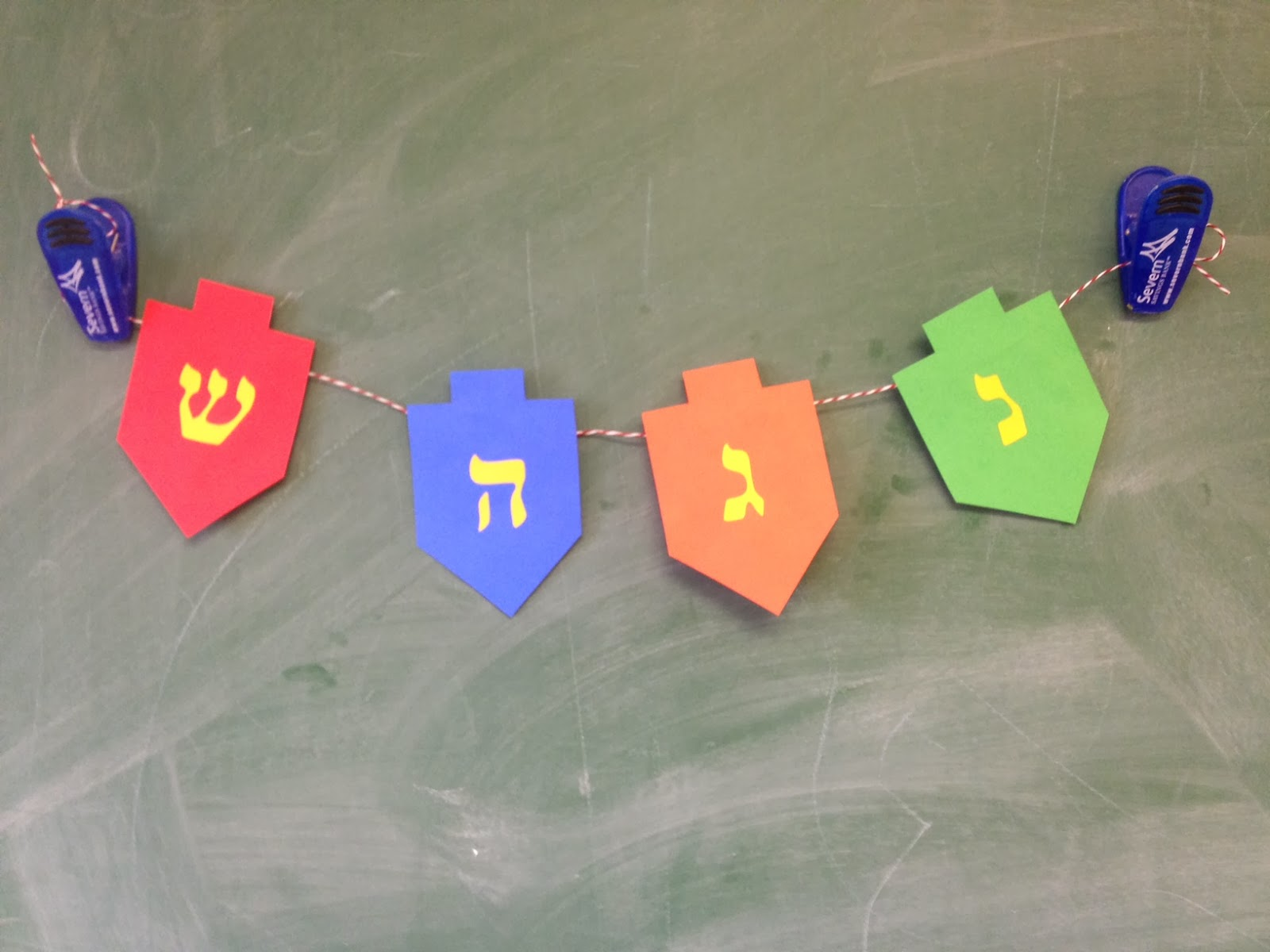 Thoughts Rants And Art Tutorial An Educational Hanukkah Craft