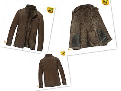 Designer Lambskin Men uk Jacket