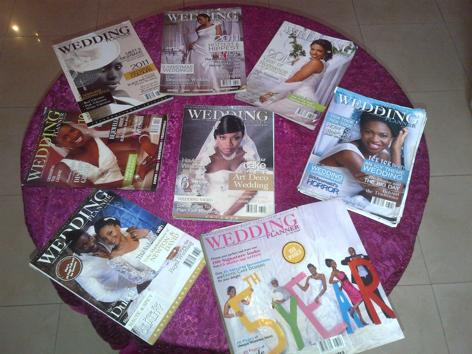 JustWeddings Inspired From Nigerias Wow Factor Planners WEDDING PLANNER MAGAZINE 7