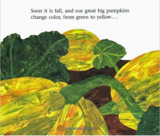 sample page from IT'S PUMPKIN TIME! by Zoe Hall