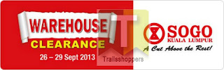 KL SOGO Warehouse Clearance 2013