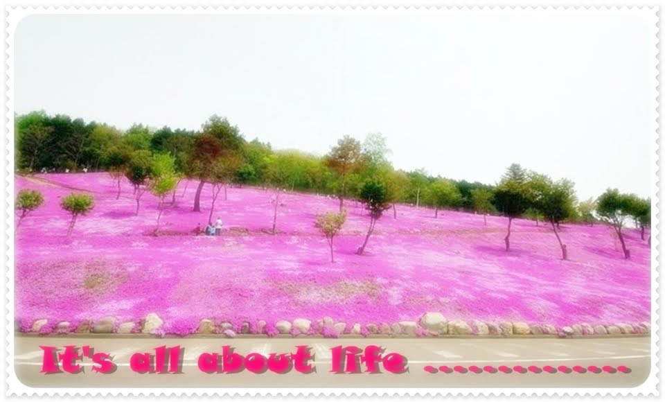 It's all about life.................