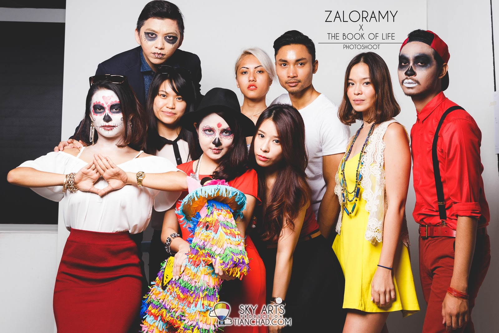 ZaloraMY x The Book of Life: Halloween Photoshoot #myzalorabookoflife