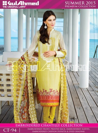 Chantilly De Chiffon Summer Collection by Gul Ahmed 11