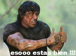 "Rambo ""Eso esta bien"""
