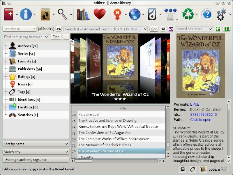 Les meilleurs logiciels pour organiser vos ebooks