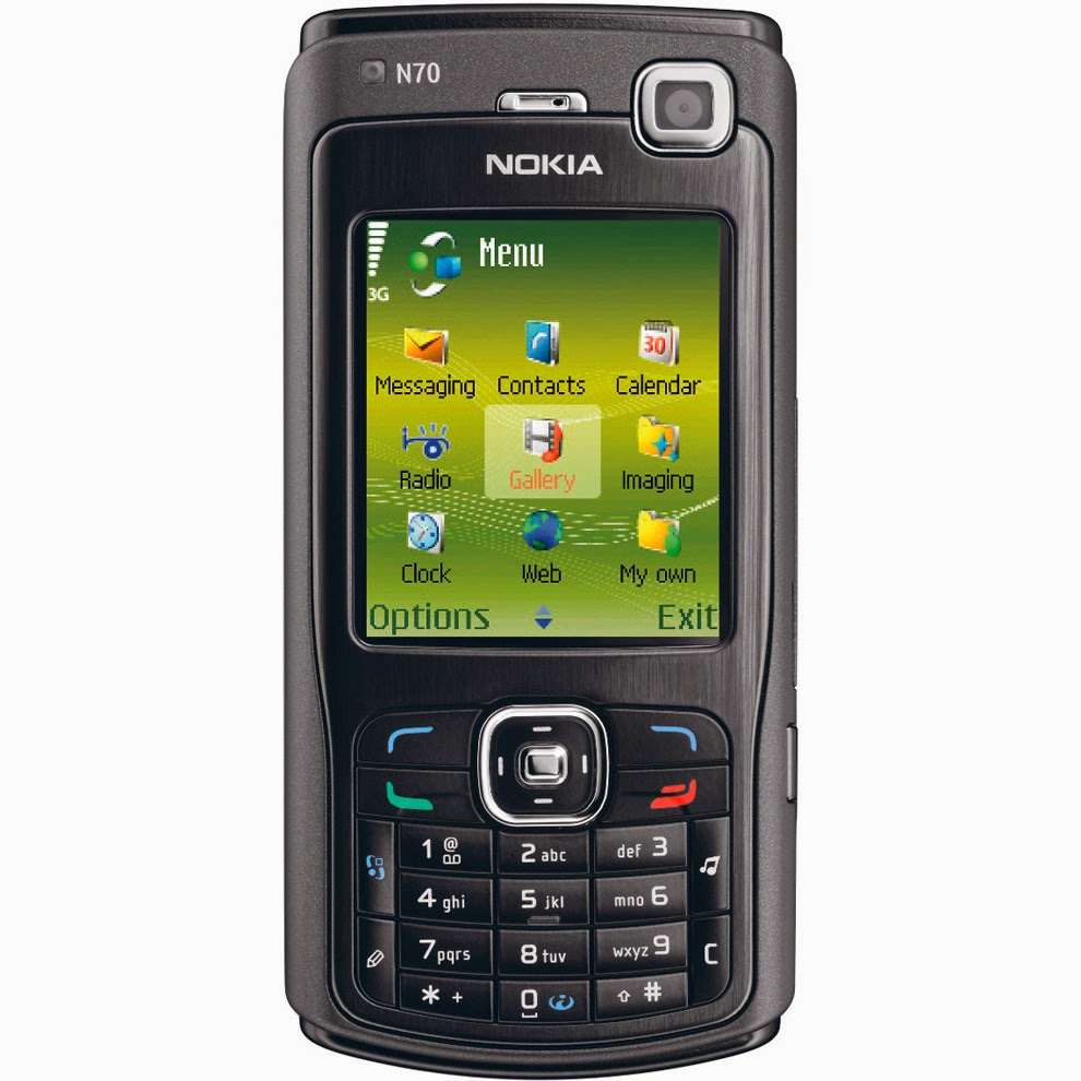 Handphone Pertamaku: Nokia N70 | Brian Praszetyawan's Blog