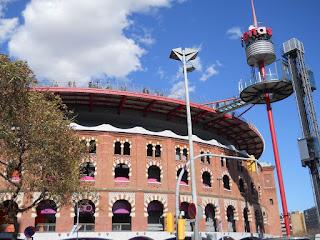 antigua plaza de toros de las Arenas en Barcelona