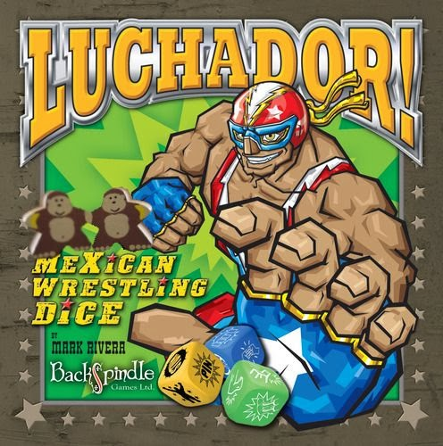 luchador mexican wrestling dice helden meiner kindheit boardgamemonkeys. Black Bedroom Furniture Sets. Home Design Ideas