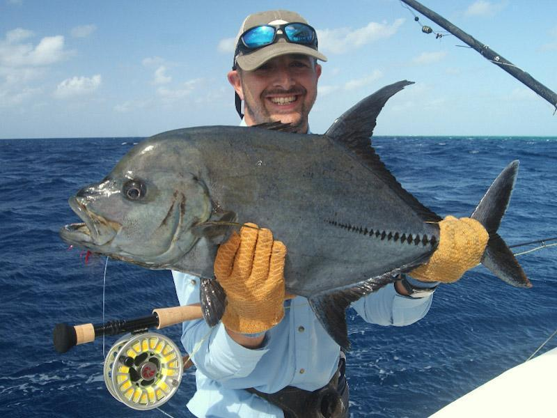 Big fishes of the world trevally jack black caranx lugubris for Large ocean fish