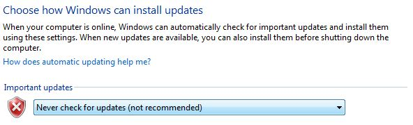 Windows Instal updates