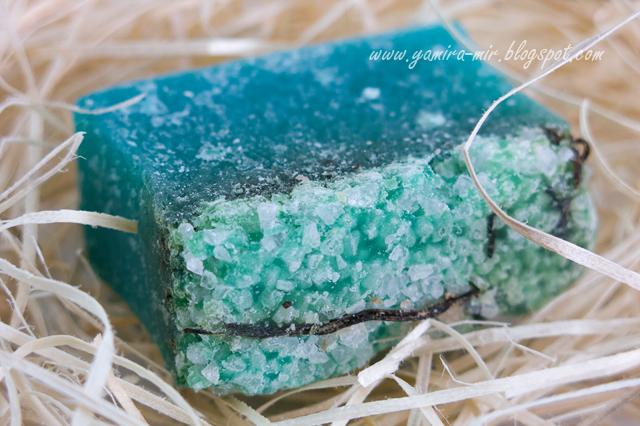 Мыло своими руками с добавлением соли 15