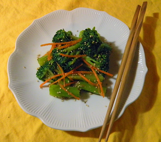 Plated Oshitaki with Chopsticks