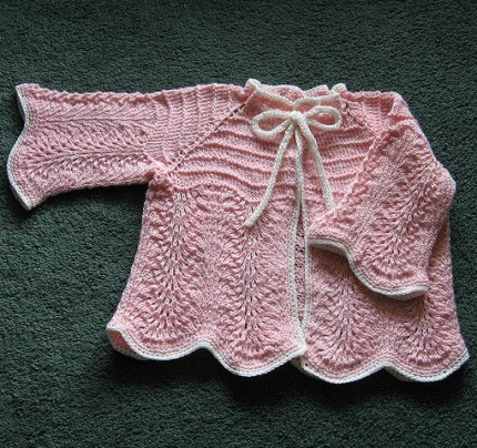 Knitted Baby Set - Free Pattern