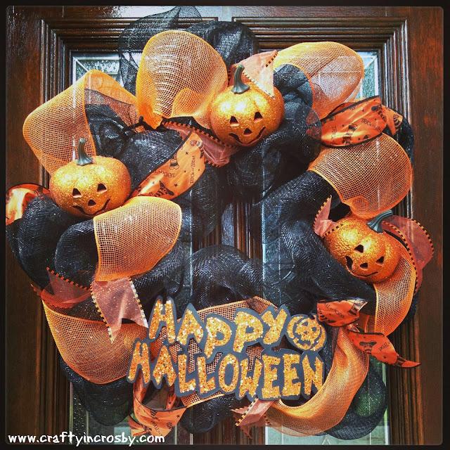 Dollar Tree, pumpkins, Happy Halloween, DIY, Crafty In Crosby