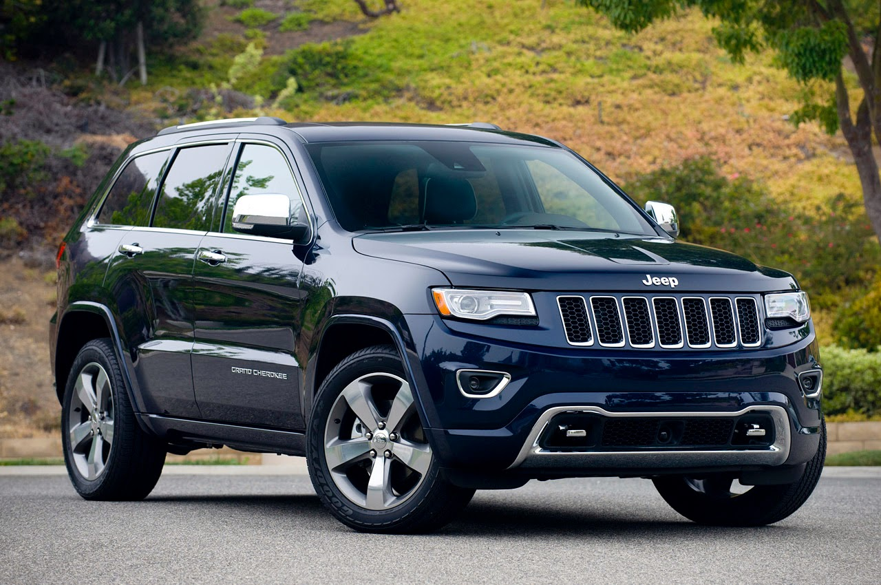 Automotiveblogz: 2014 Jeep Grand Cherokee Overland: Review Photos