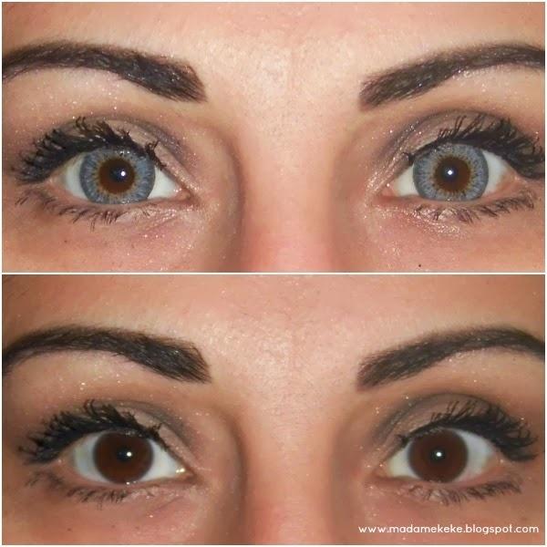 Circle Lenses Review G&G/Dueba Shinny Gray