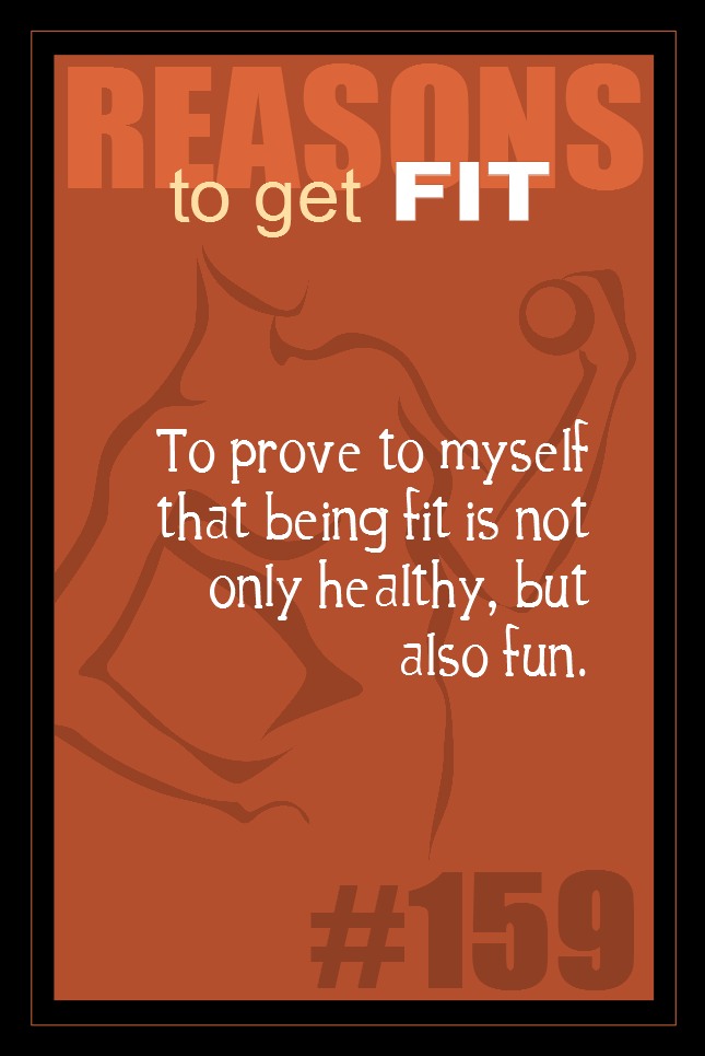 365 Reasons to Get Fit #159