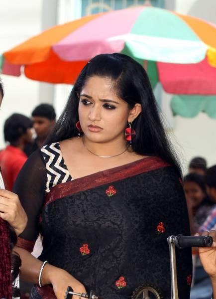 Kavya Madhavan in Black Saree Kavya Madhavan Black Saree