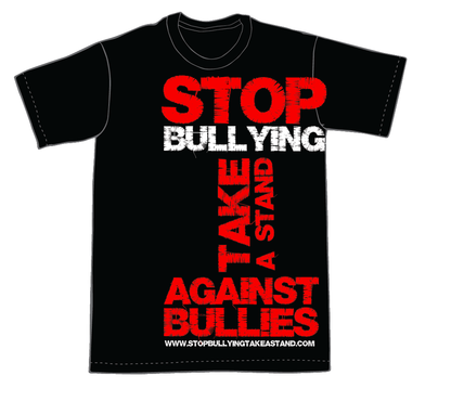 Stop Sign t Shirt Stop Bulling T-shirts in Stock