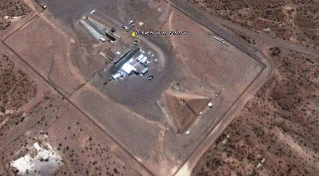 Google Earth Reveal Giant Pyramid Near Area 51 Base