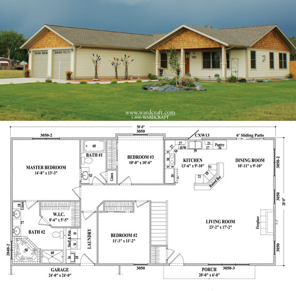 Prefab Homes And Modular Homes In USA: Wardcraft Homes
