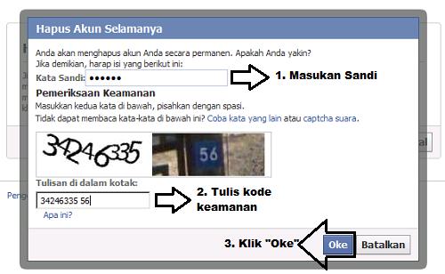 Cara Menghapus Facebook Langkah 2