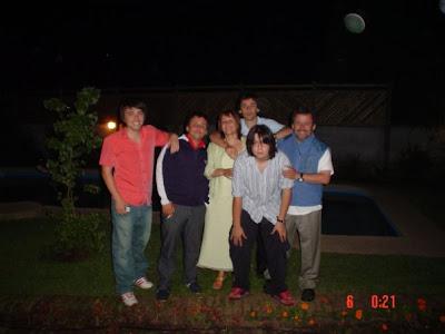 Familia de Oscar Araos