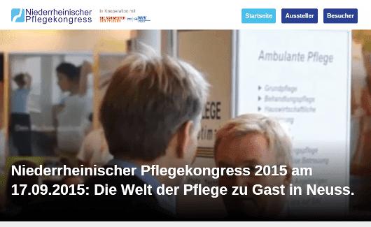 7. Niederrheinischer Pflegekongress