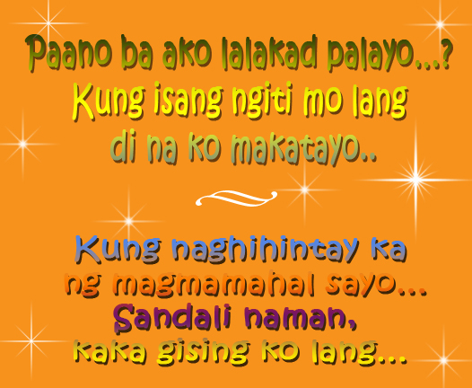 Love Quotes For Him Tagalog Pick Up Lines : Love Quotes Tagalog: Love Quotes For Him Tagalog Pick Up Lines