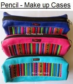 Pencil cases / Make up bags, Badana and manto - Peru