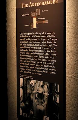 Examples of Exhibition Descriptions in the Tutankhamun Exhibit