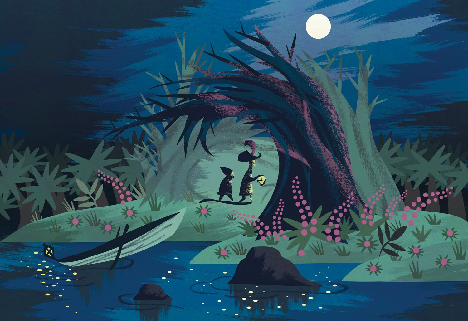 The Art Of Misa Tamaco Inspired From Mary Blair