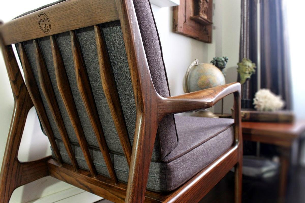 Aera60 mobiliario sillon retro estilo danes sillon aera - Muebles estilo vintage ...