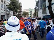 La Sangre Azul es la Barra brava del Cruz Azul. Fue fundada el 13 de enero . (foto )