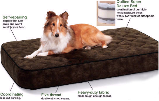 We hand select the best mattress materials and construction methods - which  means your new dog bed will outlast any other