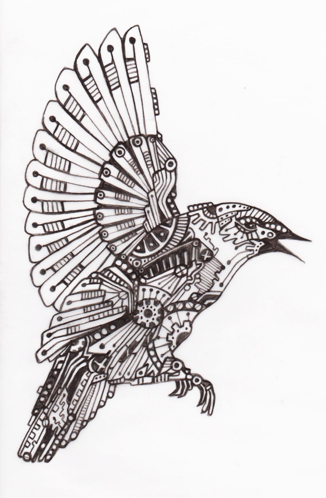 life is what you make of it     mechanical birds
