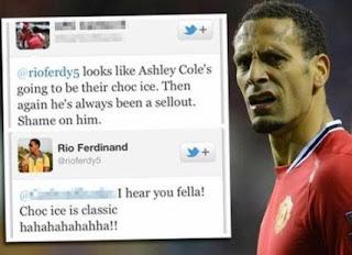 Tweet Rio Ferdinand