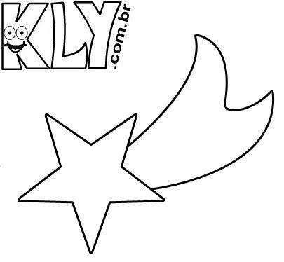 estrela de natal desenhos para colorir cia de educadores