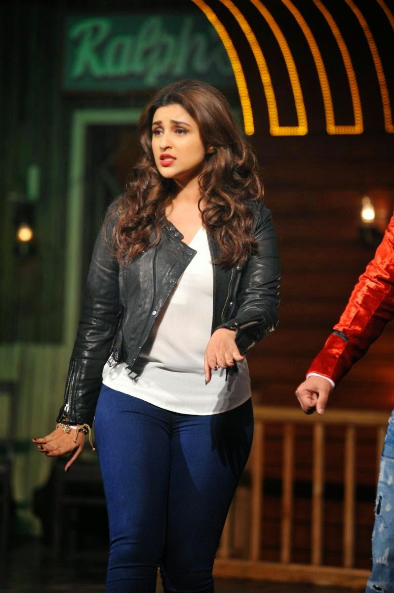 Sexy Parineeti Chopra At 'Nakhriley' Song Launch