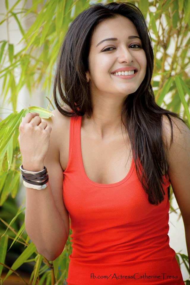 Stunning Catherine Tresa Hot Face book Latest Sexy Pics