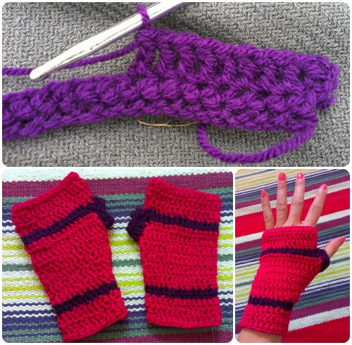 craftypainter: Etsy Craft Party - Crochet Hand Warmers
