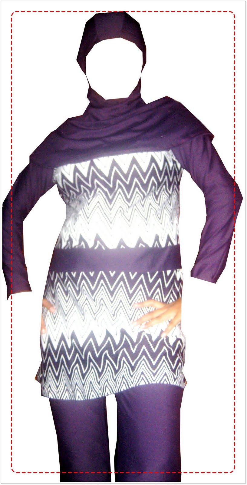 Fatimah Collections Baju Renang Muslimah Dewasa