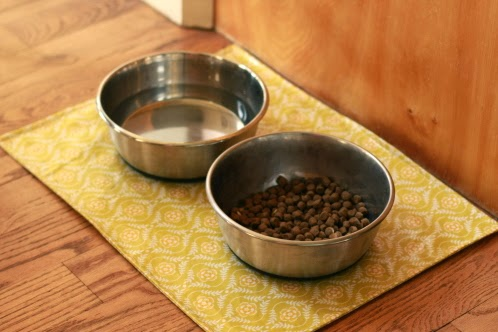 Make It Do | Dob Food Bowl Mat