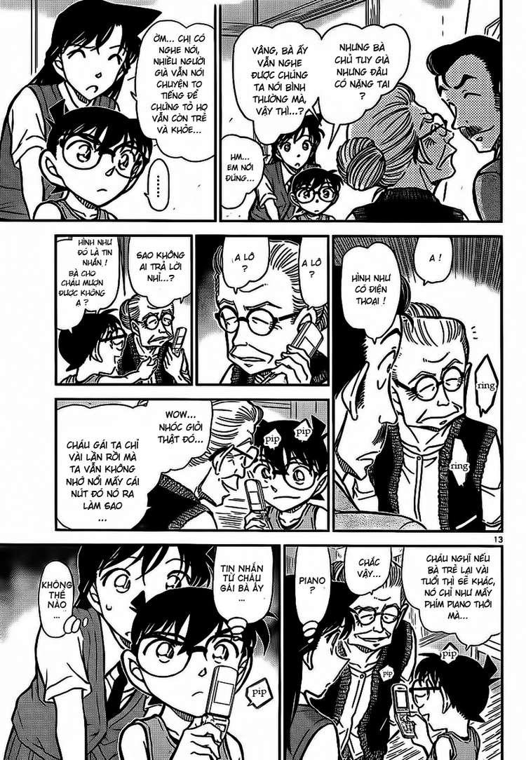 Detective Conan - Thám Tử Lừng Danh Conan chap 788 page 14 - IZTruyenTranh.com