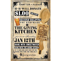 Drink for a cause at Hampton + Hudson Jan 12th!