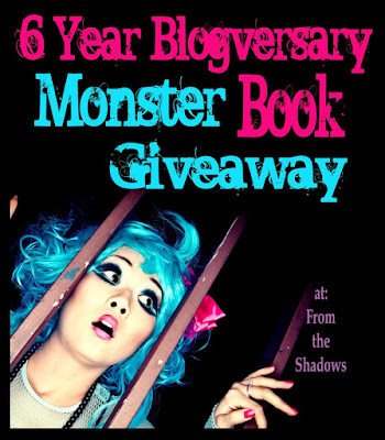 6 year Blogversary Book Giveaway at From the Shadows