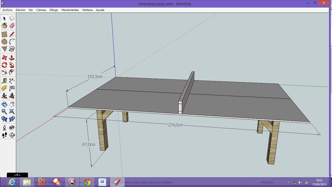 Carlasafapitecno mesa ping pong medidas for Dimensiones mesa ping pong